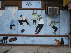 ASPIRE.GO mural detail